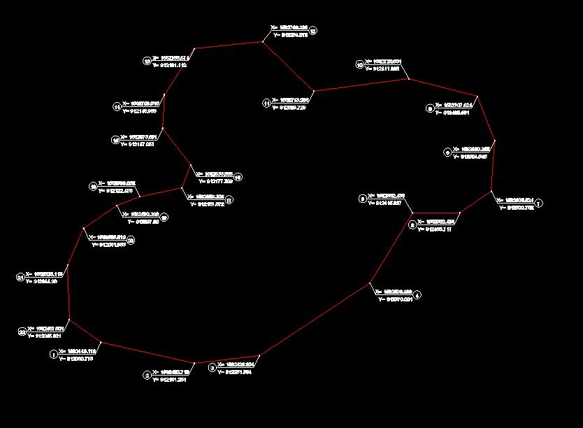 Xuất tọa độ theo VN-2000
